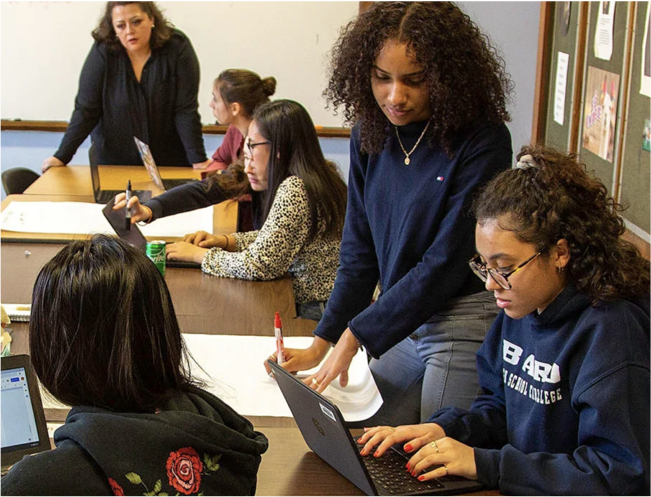 Students applying for early college