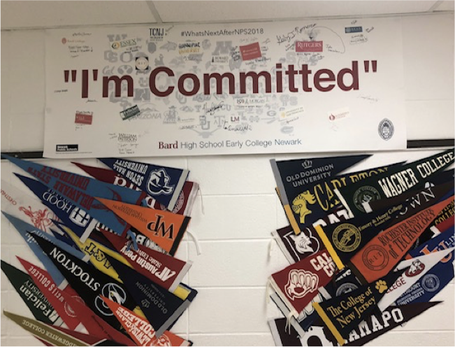 """""""I'm Committed"""" banner"""