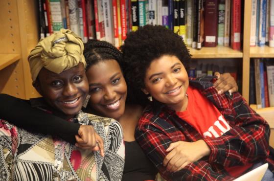 Photo of BHSEC Manhattan students.